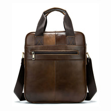 Load image into Gallery viewer, Men's Genuine Leather Crossbody Bag