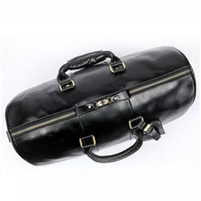 Load image into Gallery viewer, Men's Vintage Genuine Cowhide Leather Travel Duffle Bags
