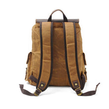Load image into Gallery viewer, LukeCase Wax Canvas Backpack