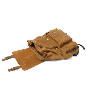 LukeCase Wax Canvas Backpack