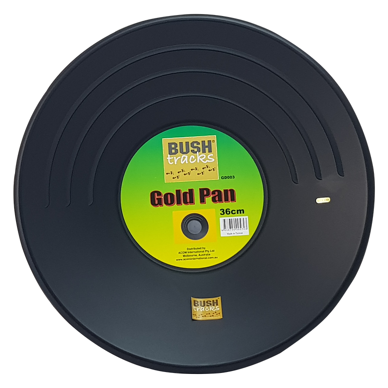 Gold Pan - Black 36cm Bush Tracks
