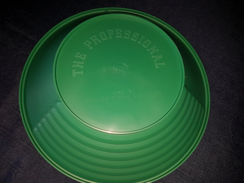 14 Inch Green Gold Prospector Pro Gold Pan by proline