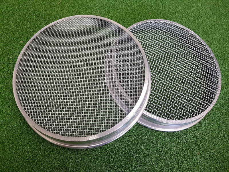 Gold Sieve Set - 1/4 inch and 1/8 mesh