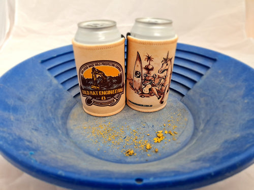 Gold Rat Stubby Coolers
