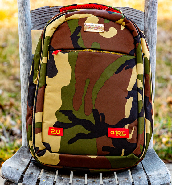 THE WILL Limited Edition Camo 2.0 Backpack