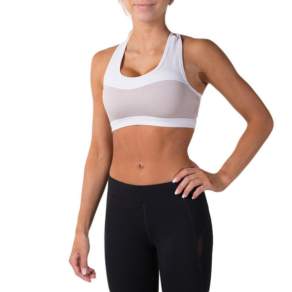 Alexa Sports Bra – Grey