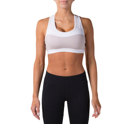 Alexa Sports Bra – Grey - Rise