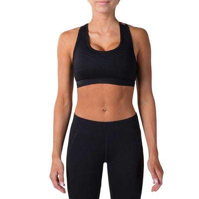 Alexa Sports Bra – Black - Rise