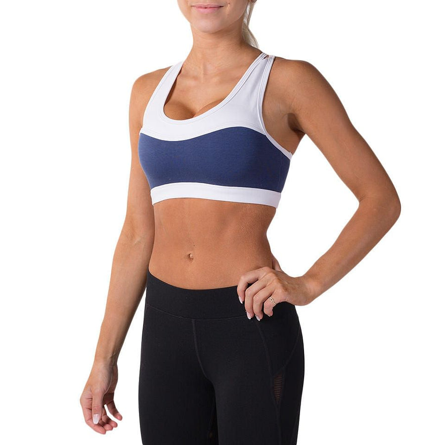 Alexa Sports Bra – Navy