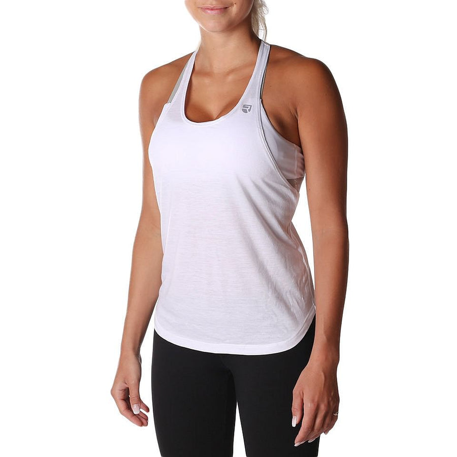 Axis Tank Top – White