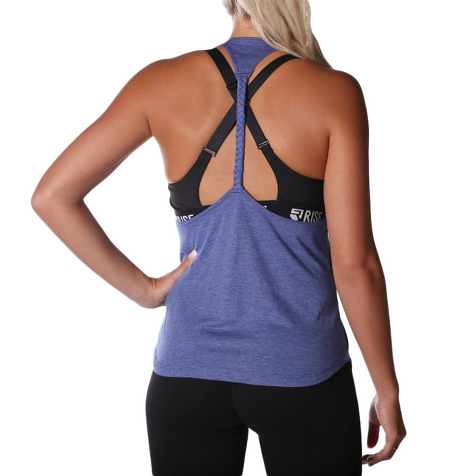 Axis Tank Top – Navy - Rise