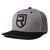 Signature Snapback – Grey/Black