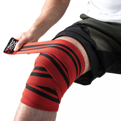 Knee Wraps – Red - Rise
