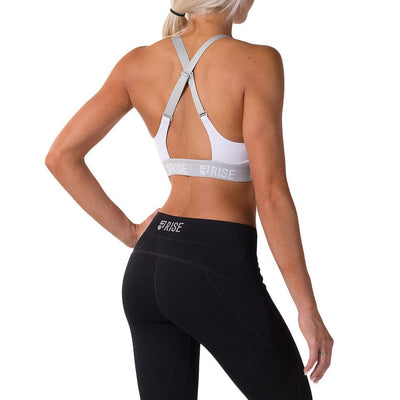 Motion Sports Bra – White - Rise