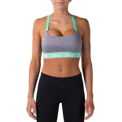 Motion Sports Bra – Mint - Rise
