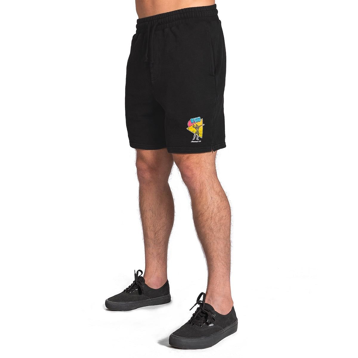"Retro Shorts 7"" - Black"