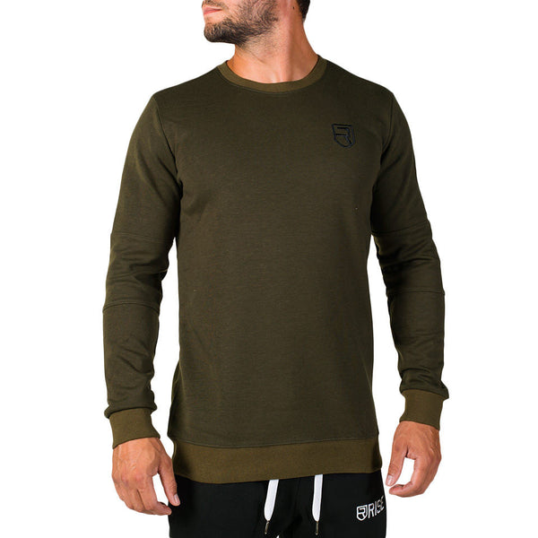 Venture Crew Neck – Army Green