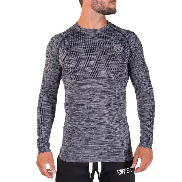 X-Line Long sleeve – Charcoal