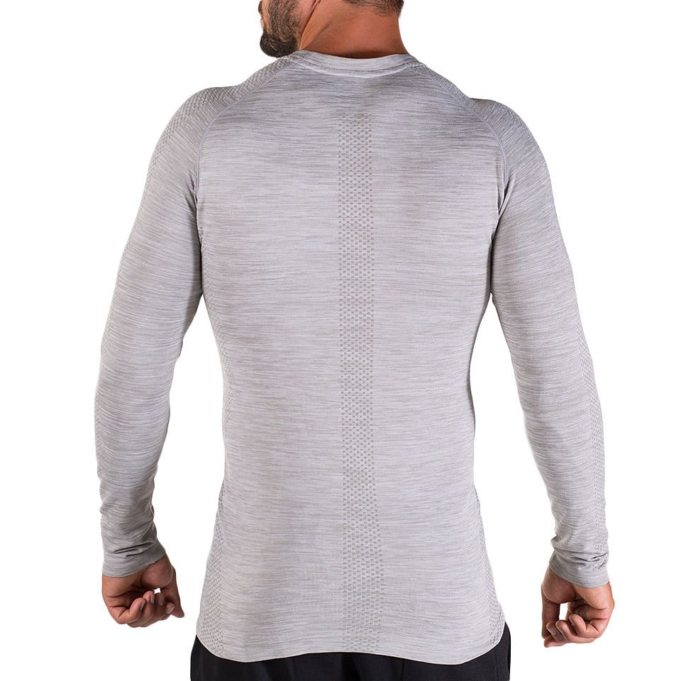 X-Line Long sleeve – Silver - Rise
