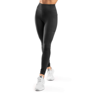 Arsenal High-Waisted Pockets Legging – Black