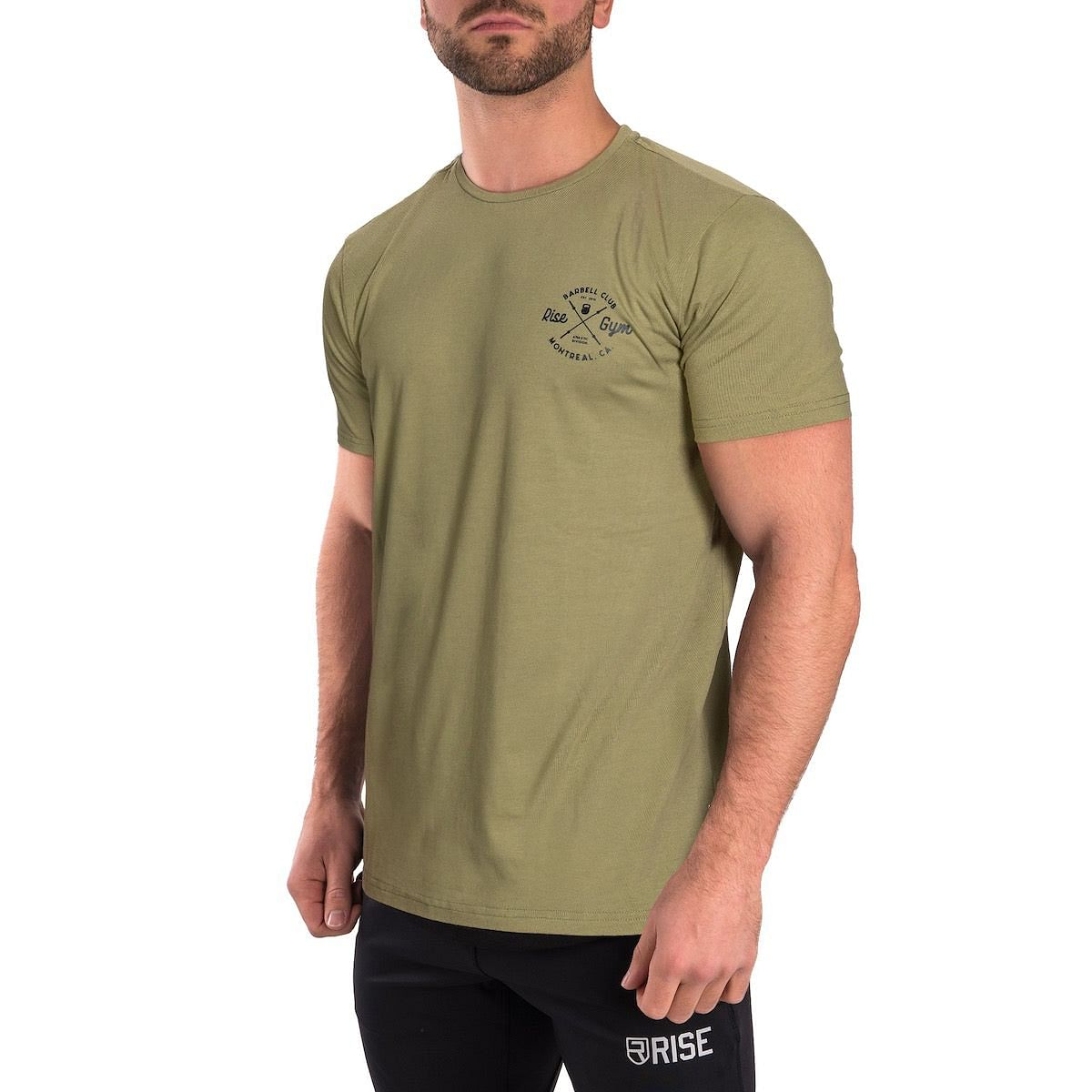 Barbell Club Shirt - Army Green