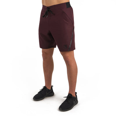 "Eclipse Shorts 7"" – Burgundy"