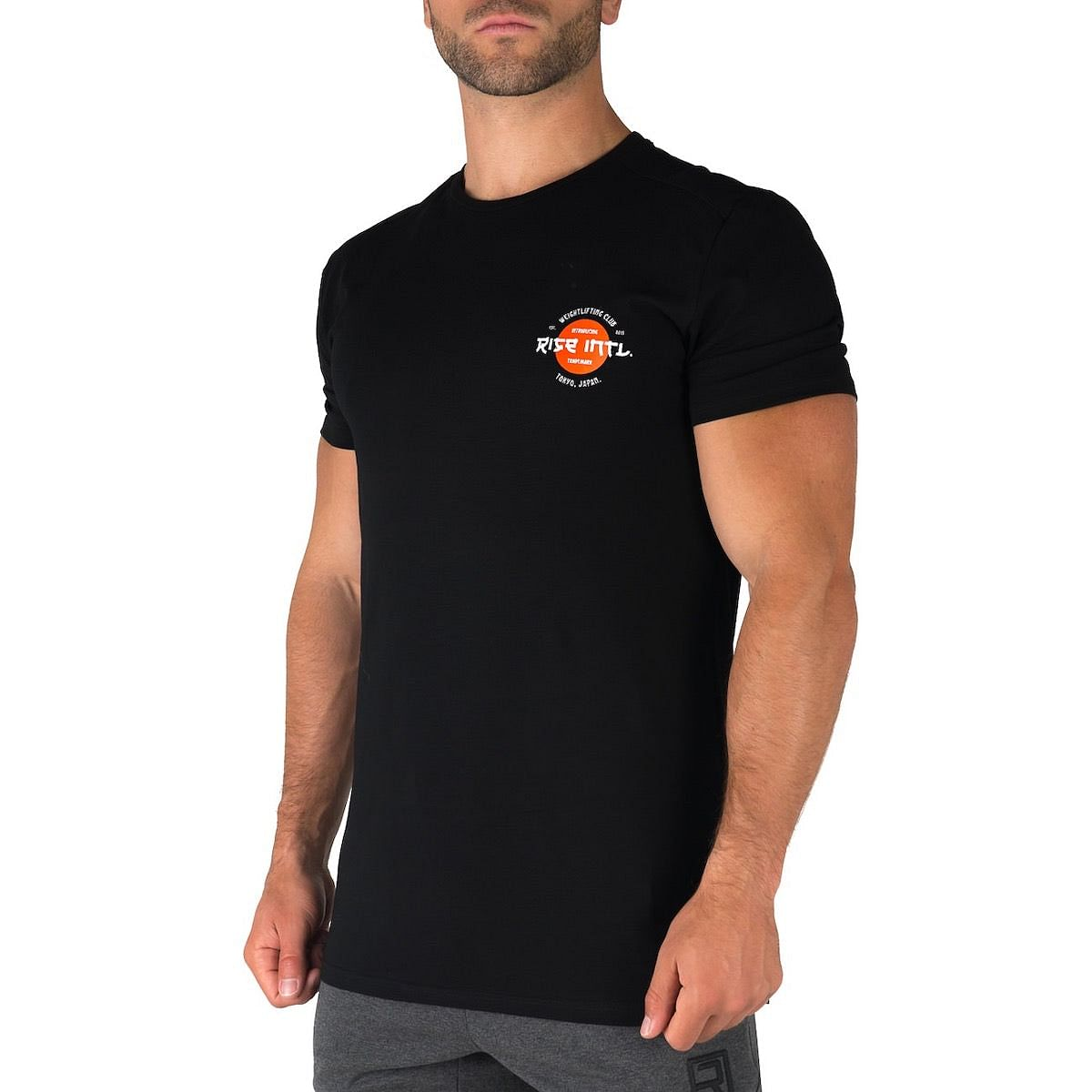 Japan Weightlifting Club Shirt - Black
