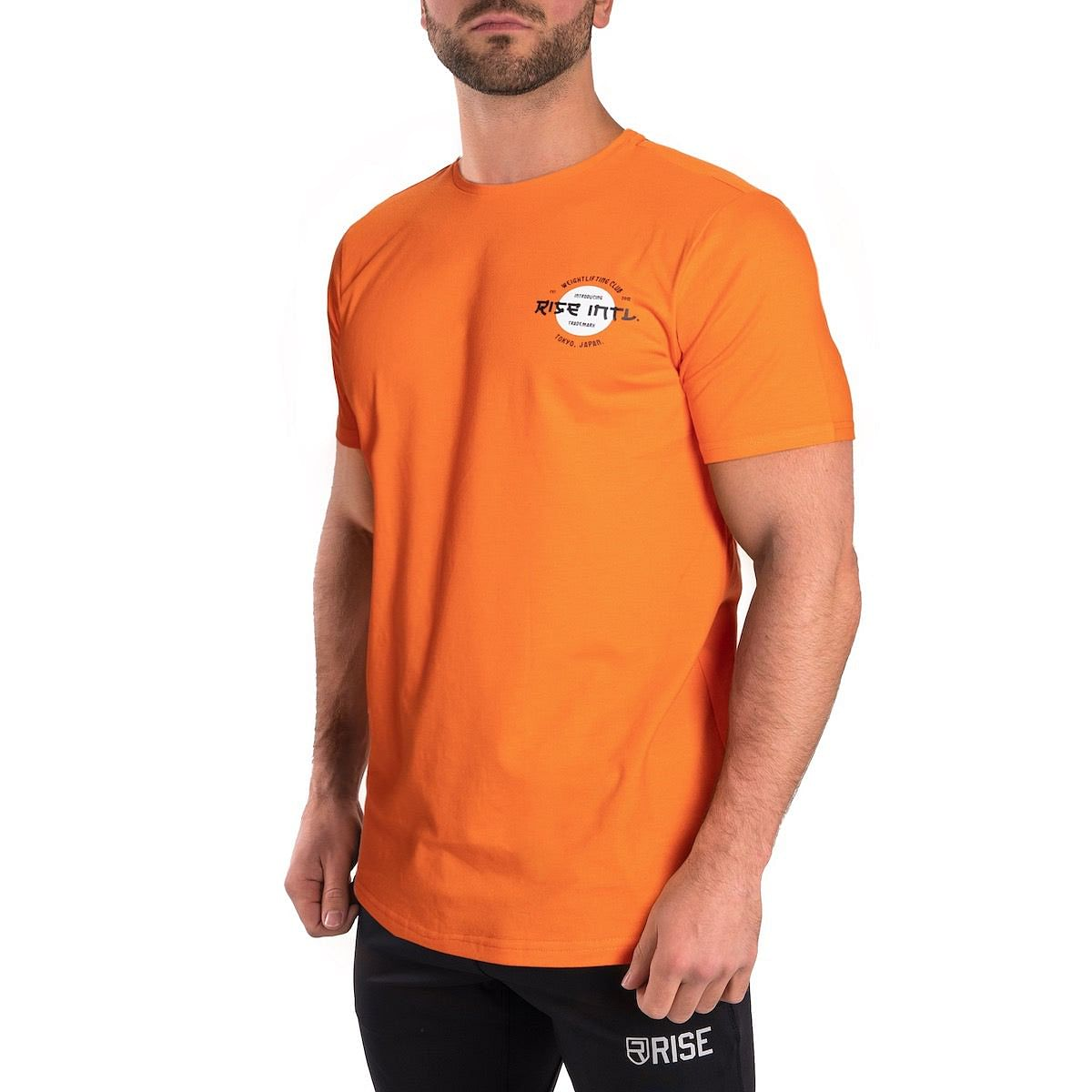 Japan Weightlifting Club Shirt - Orange
