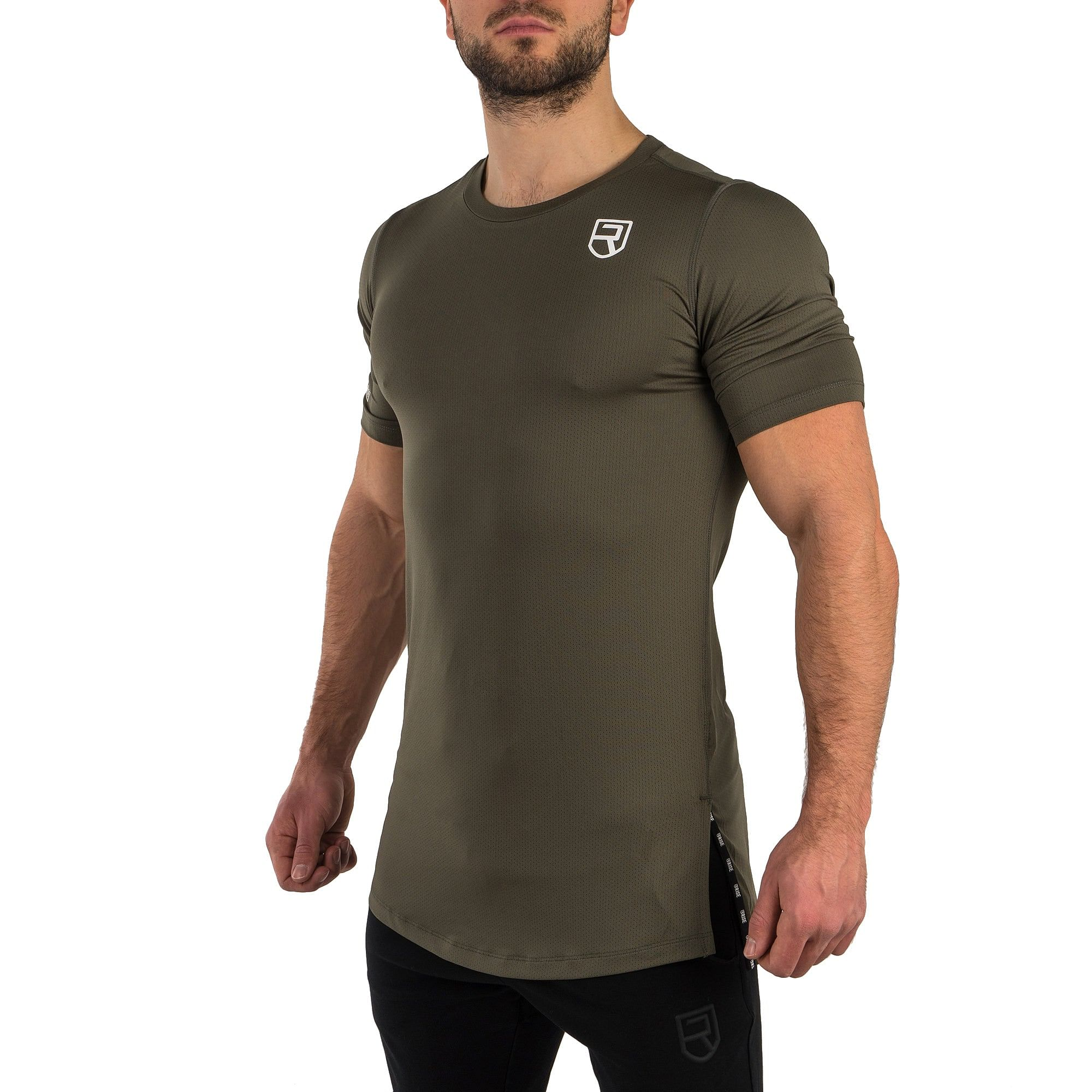 Level T-Shirt - Army Green