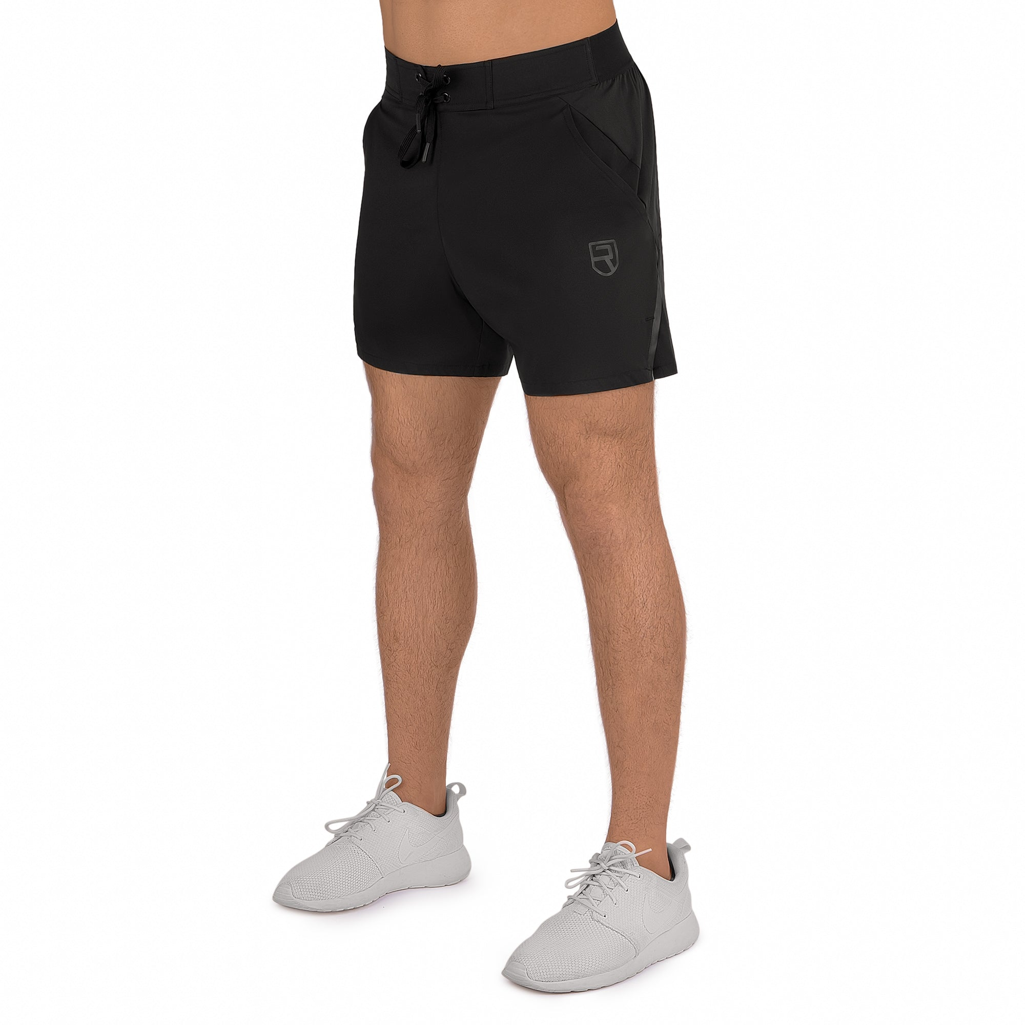 "Eclipse shorts 5"" - Black"