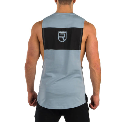 Motion Tank Top – Slate Blue
