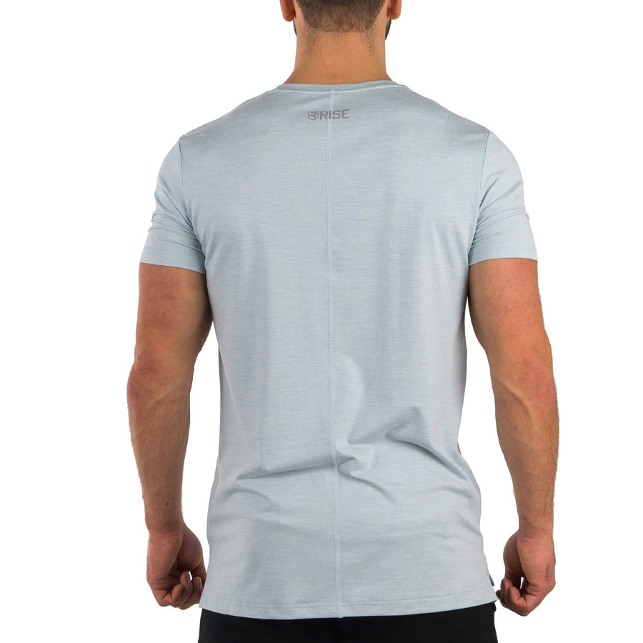 Softest T-Shirt – Light Blue Marl