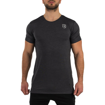 Softest T-Shirt – Black Marl