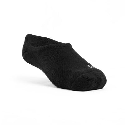 Athletic No-Show Socks – Black