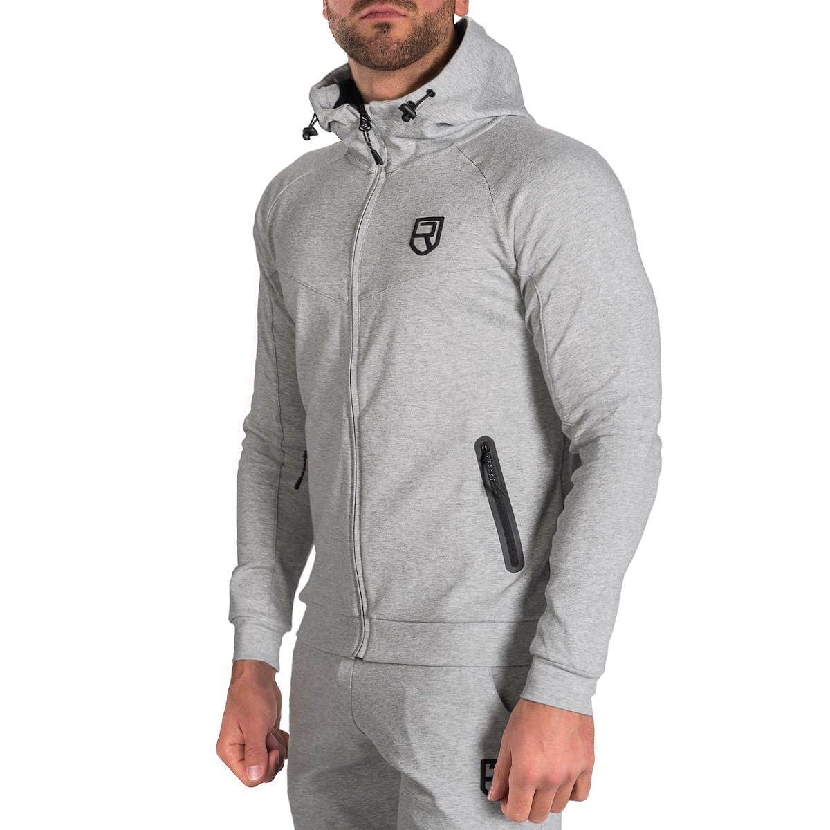Peak Hoodie - Light Grey