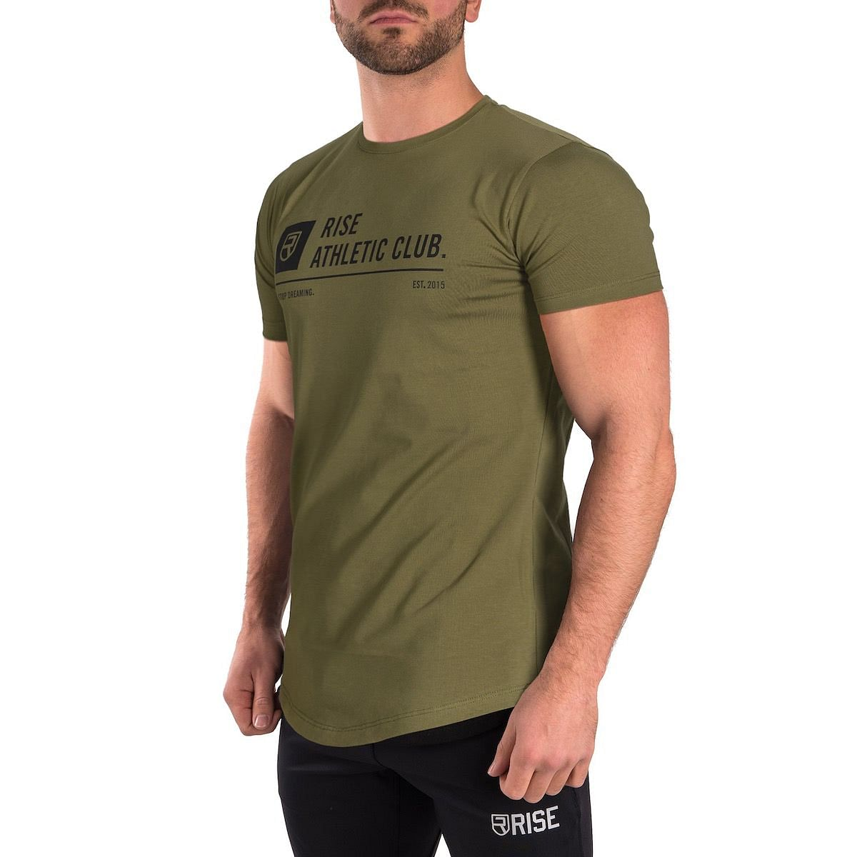 Athletic Club T-Shirt - Army Green