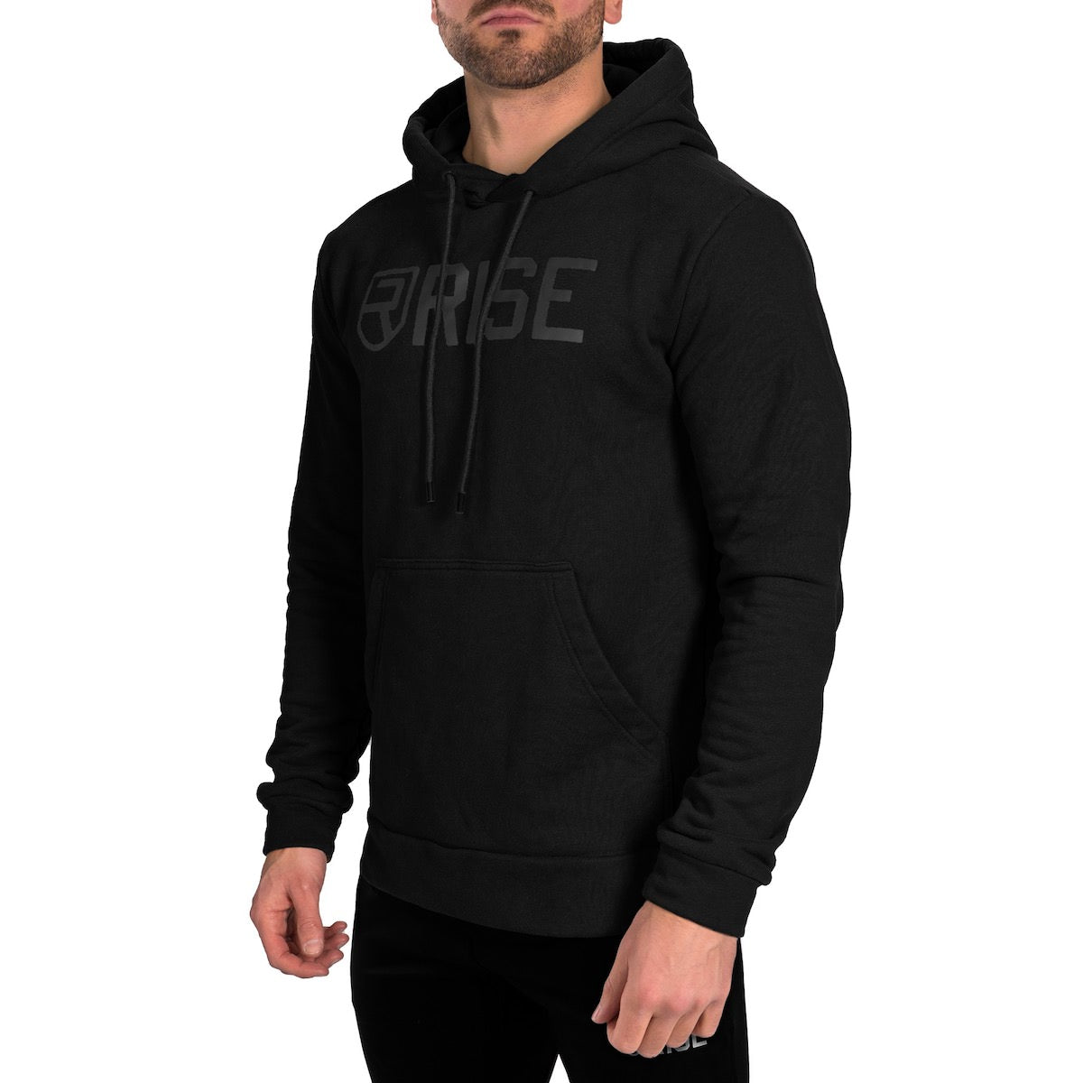 Signature Hoodie - Black on Black