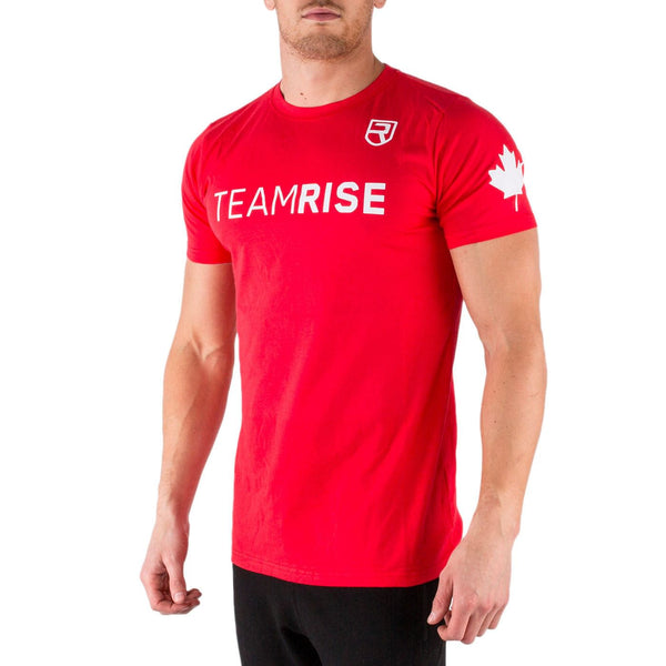 Team Rise T-Shirt – Red