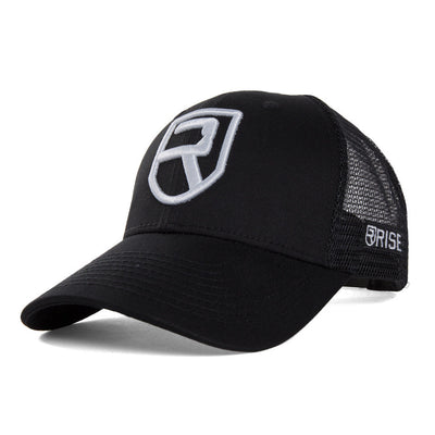 Performance Snapback – Black - Rise