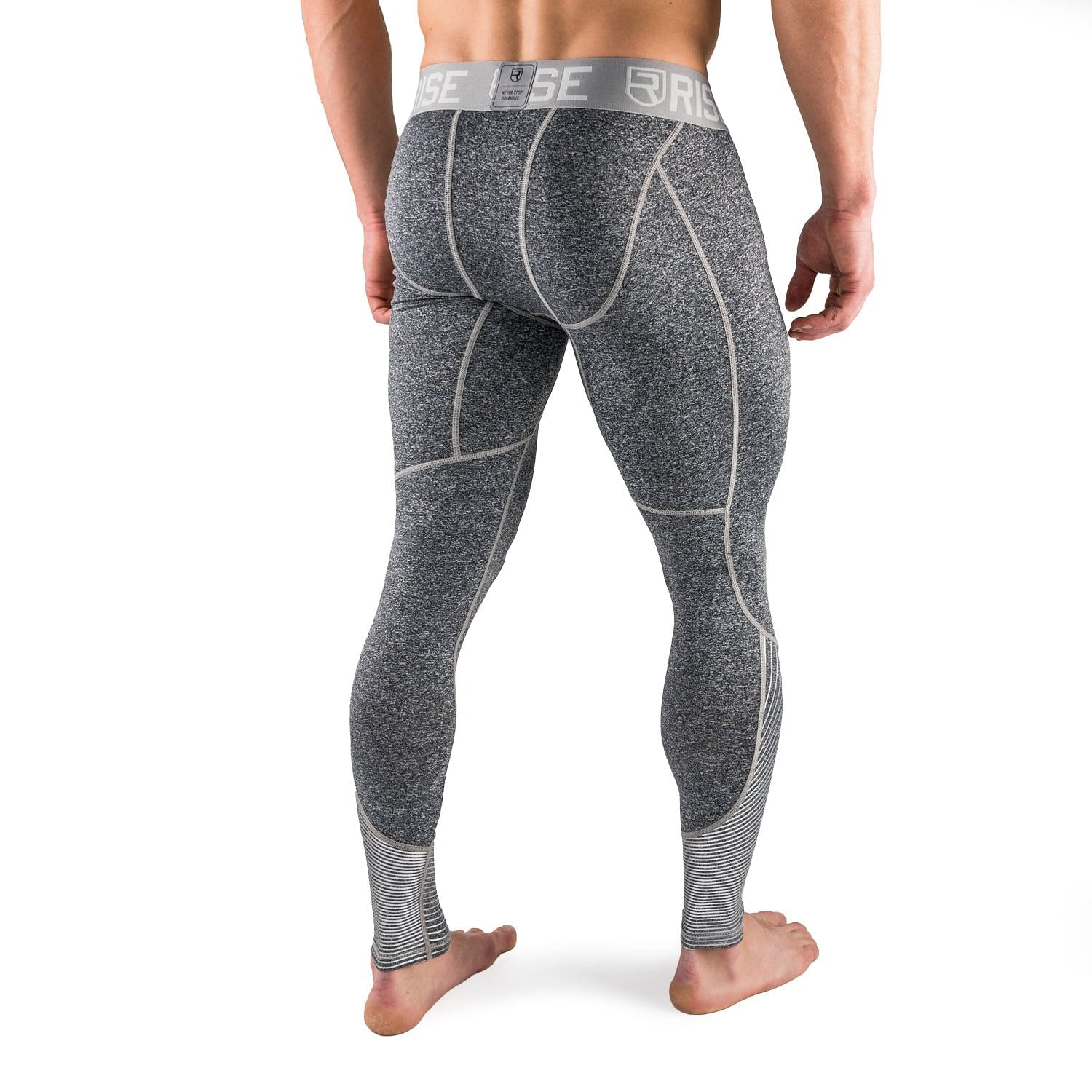 Active Dry Compression Pants - Grey - Rise 18deee176699