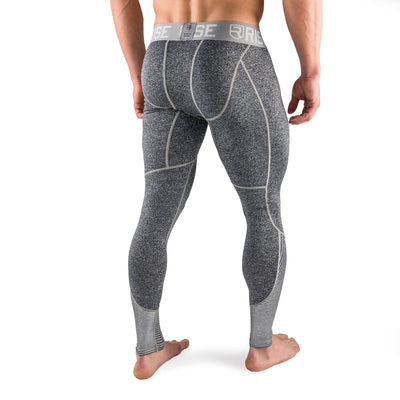 Active Dry Compression Pants - Grey - Rise