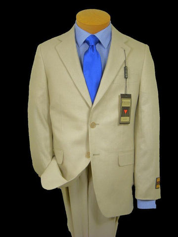 Image of Boy's Suit Separates Jacket 10539 Oatmeal Linen Boys Suit Separate Jacket Europa