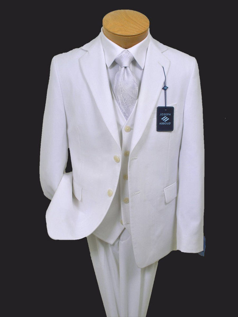 Boy's Suit Separates Jacket 13366 White Boys Suit Separate Jacket Joseph Abboud