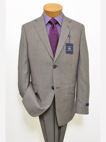 Image of Boy's Suit 11822 Grey Weave from Boys Suit Joseph Abboud