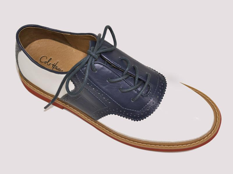 Boy's Shoes 11970 White/Blue Boys Shoes Cole Haan