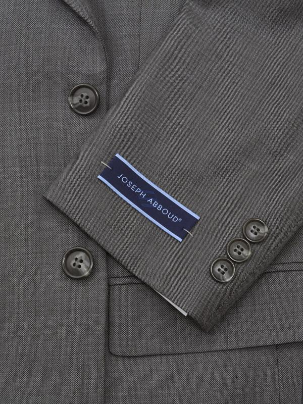 Joseph Abboud 12599 Grey Boy's Suit - Sharkskin - 70% Tropical Worsted Wool / 30% Polyester from Boys Suit Joseph Abboud
