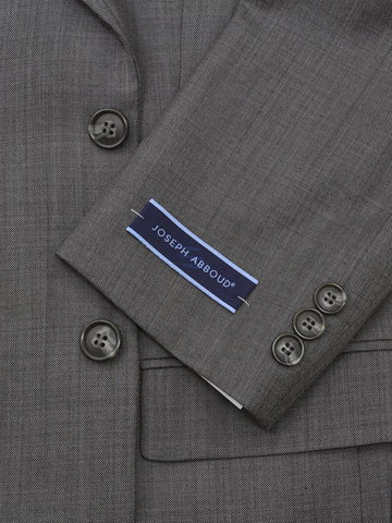 Image of Joseph Abboud 12599 Grey Boy's Suit - Sharkskin - 70% Tropical Worsted Wool / 30% Polyester from Boys Suit Joseph Abboud