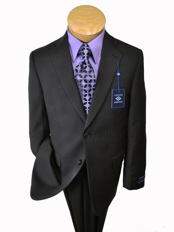 Boy's Suit 12622 Black Stripe from Boys Suit Joseph Abboud