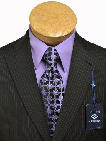 Image of Boy's Suit 12622 Black Stripe from Boys Suit Joseph Abboud