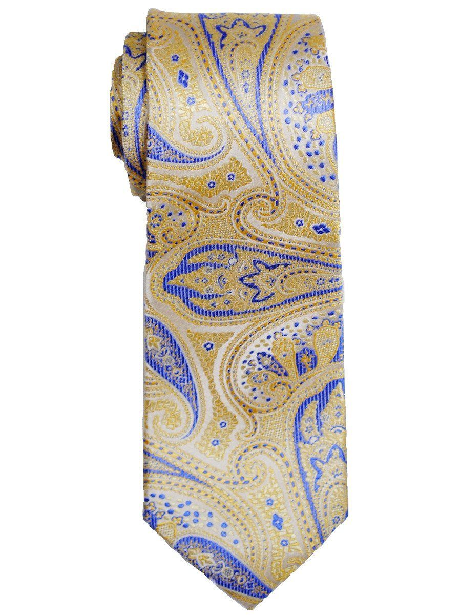 Boy's Tie 13048 Yellow/Blue Boys Tie Heritage House